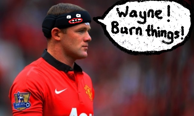 Wayne Rooney headband