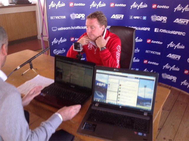 Harry Redknapp answrs #AskHarry tweets on Twitter