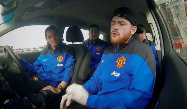 Manchester United beatboxing in Chevrolet advert