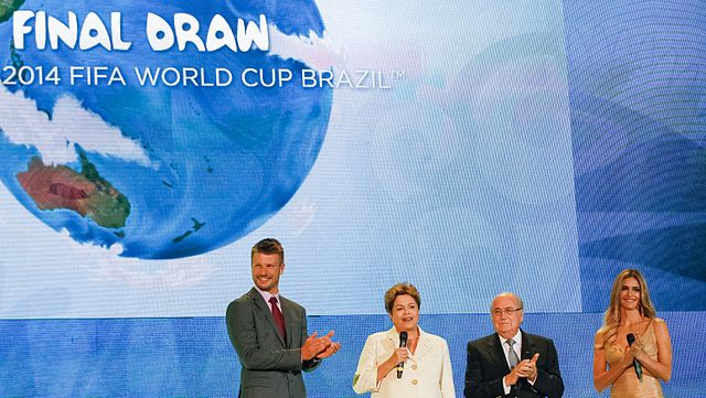 The Brazil 2014 World Cup draw, one of the best Fernanda Lima videos