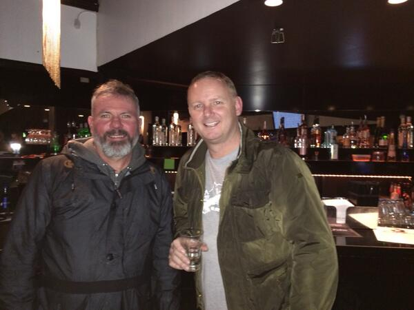 Brian McClair and David May, part of our Tweets of the Week
