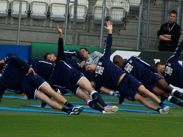 Italy training