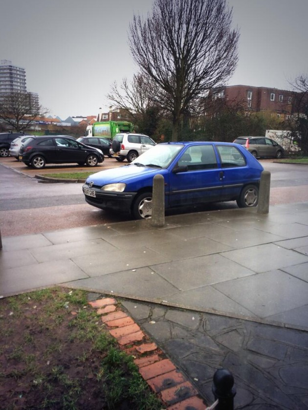 A parked card is spotted out window in the AFC Wimbledon transfer deadline day story