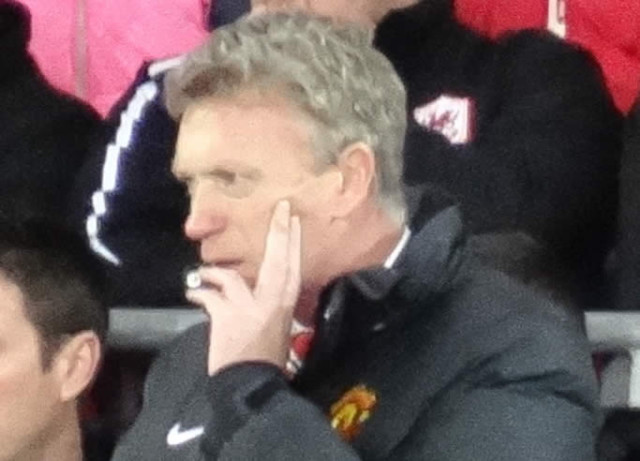 The butt of the David Moyes jokes from Manchester United 0-3 Manchester City at Old Trafford