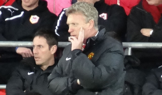 The David Moyes tweets were much nicer after Manchester United 3-0 Olympiakos