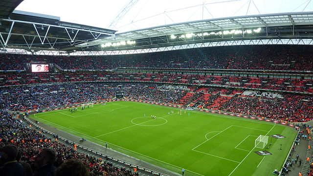 Wembley Stadium played host to the best boring England jokes from 1-0 Denmark friendly win