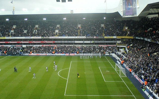 White Hart Lane was the scene of the touchline spat and loss that lead to the Tim Sherwood jokes