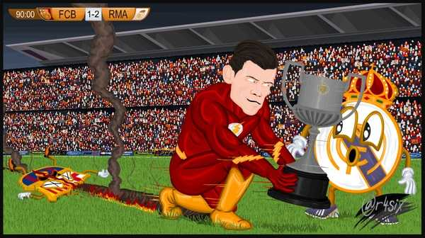 One of our favourite Bale skins Bartra jokes is this image
