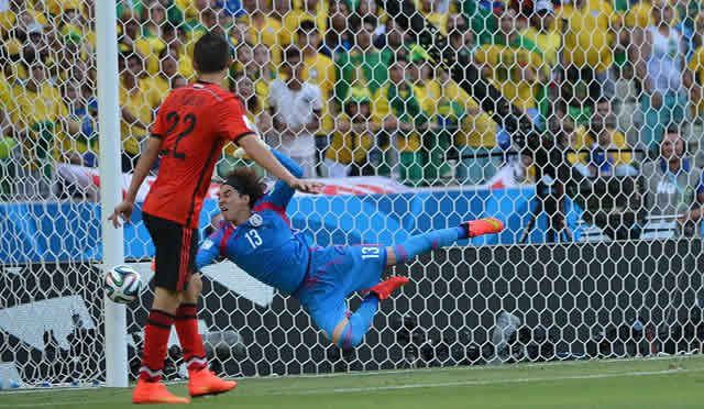 The best Guillermo Ochoa jokes as Mexico go out of the World Cup in Brazil 2014, but not before some stunning saves like this