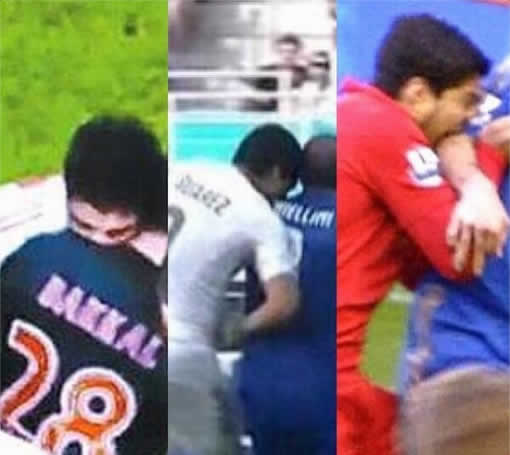 There were many Luis Suárez biting memes after his third bite, this time for Uruguay vs Italy at Brazil 2014
