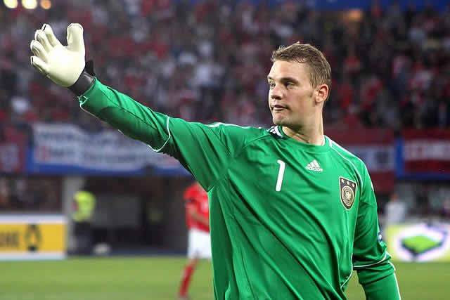 The German goalkeeper who was out of his box more often than not against Algeria at the World Cup, hence the Manuel Neuer sweeper jokes