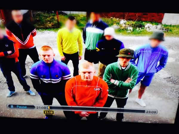 Manchester City 's Blazing Squad was the subject of many Football Fight Club jokes after the hooligan firm featured prominently in the BBC Three documentary