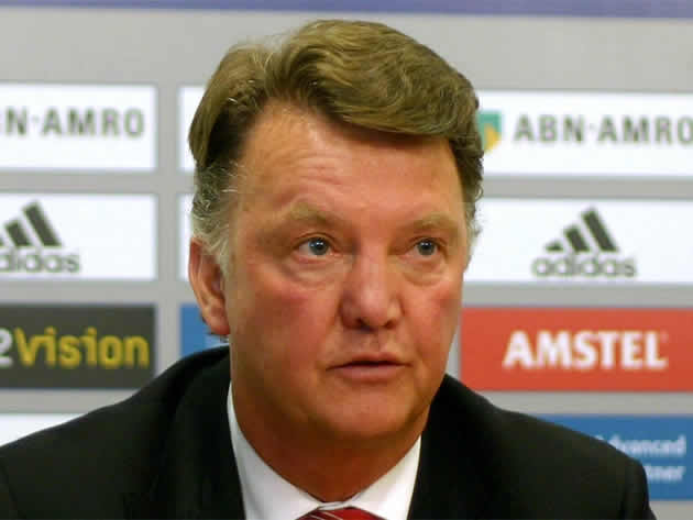 Louis van Gaal will not laugh at the Manchester United jokes after their 5-3 Leicester City defeat