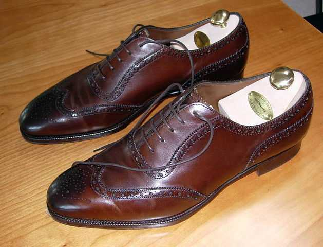 Roy Hodgson defends himself in fabulous brogues such as these