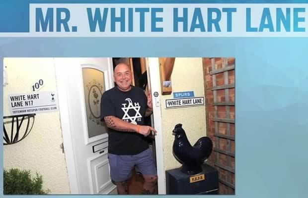 This Spurs fan changed his name to White Hart Lane, meet Gary White Hart Lane
