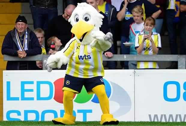 Claims of a Torquay mascot fight appeared on the club's website before Gilbert the Gull had to be reprimanded by the club