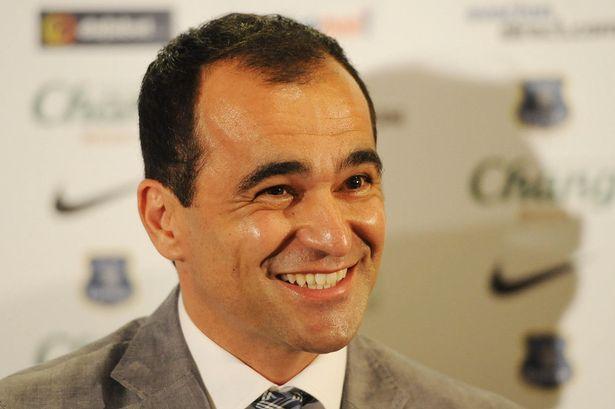 Roberto Martínez, Everton manager