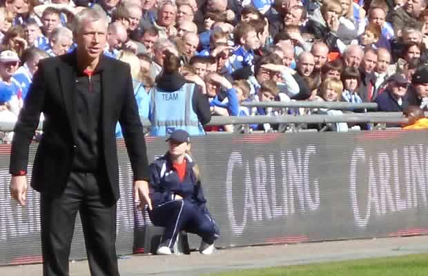 Both sets of fans were ready to make Alan Pardew to Crystal Palace jokes as news of the appointment was revealed