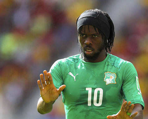 Gervinho, perpetrator of one of our top 10 on-pitch tantrums from this season so far