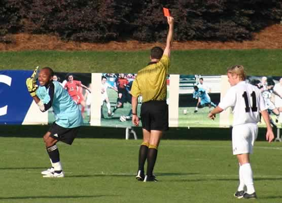 videos five funny red cards football burp