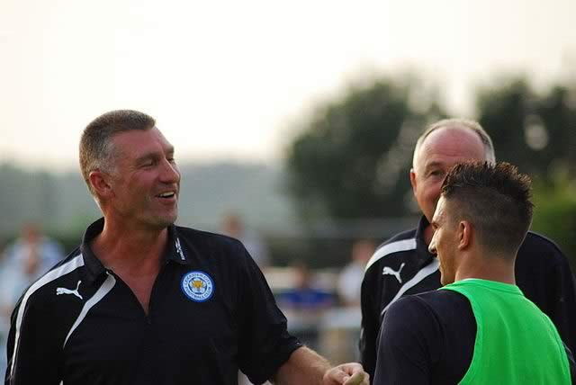 The Leicester City manager might not be able to laugh off the Nigel Pearson sacked jokes as the odds as slashed on him departing the club