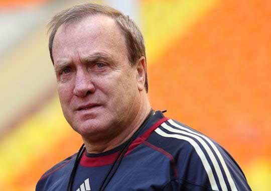The rumoured new Sunderland manager looking puzzled by the Dick Advocaat jokes following his appointment