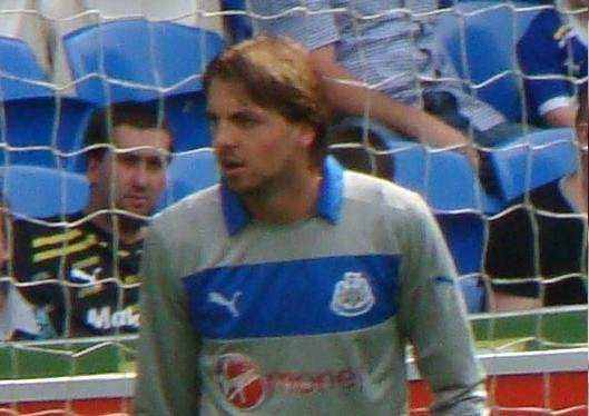 Tim Krul, subject of the Tim Krul pass to Ashley Young jokes