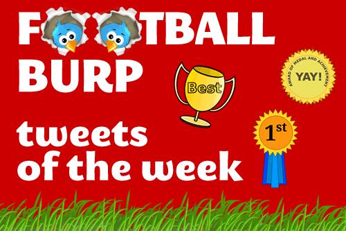 Football's best Tweets of the Week