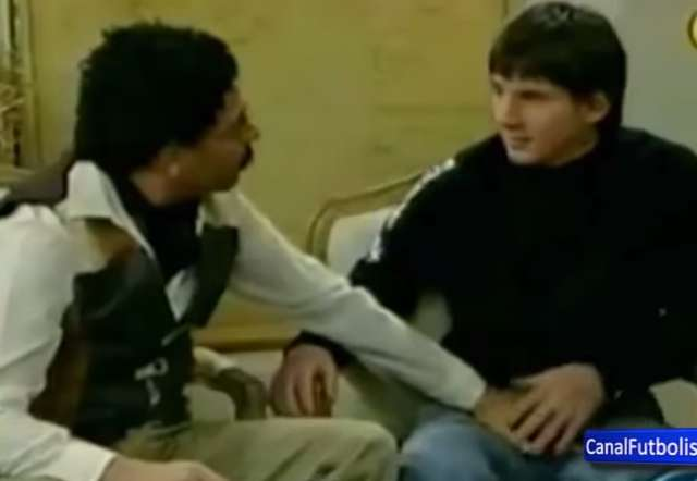 Lionel Messi groped on a comedy Argentinian TV programme
