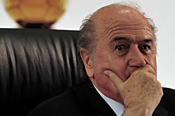 There were enough Sepp Blatter resigns puns for an article after he announced his intention to leave FIFA