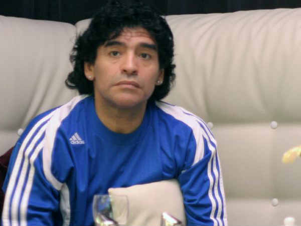 Diego Maradona for Fifa president? It could happen...
