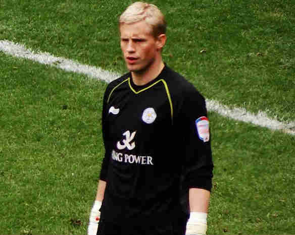 Kasper Schmeichel, one of our Leicester bargains for the 2015-16 FPL season