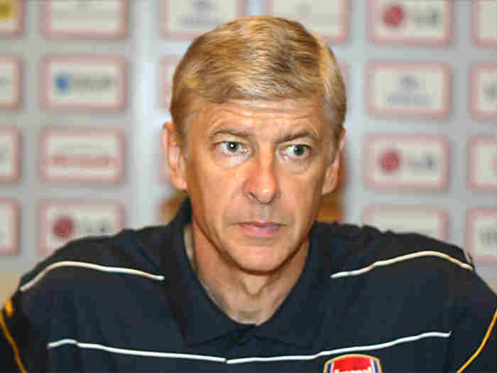 Arsène Wenger is not amused by these Arsenal jokes