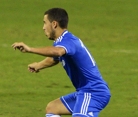 This man's skied effort against Maccabi Tel Aviv spawned these Eden Hazard penalty jokes