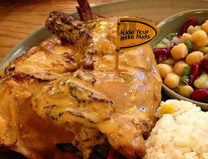 Nando's home delivery in Singapore sparked a few Jermaine Pennant jokes
