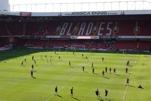 One fan shouted abuse during the Sheffield United lap of honour