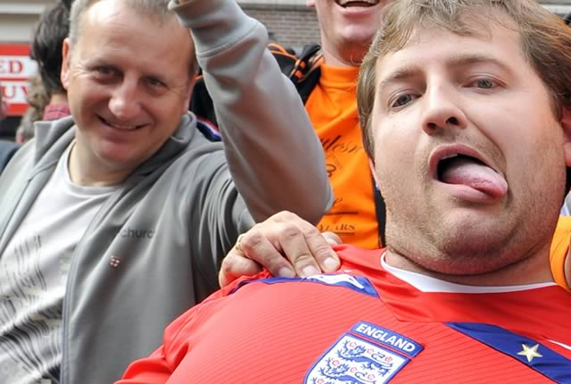 This fan will be able to laugh at the England jokes before the Euro 2016 Russia clash amid fan trouble in Marseille