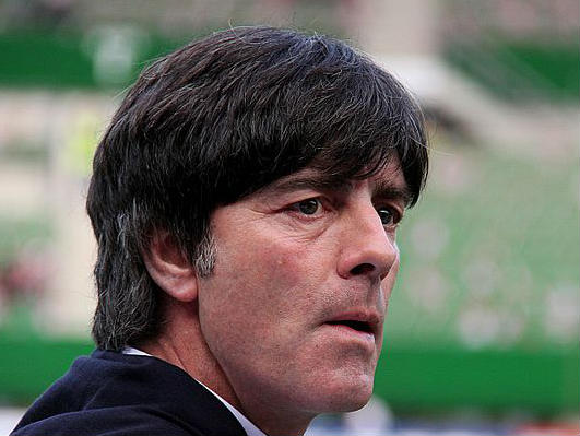 Joachim Löw stuck his hand down his trousers then sniffed it