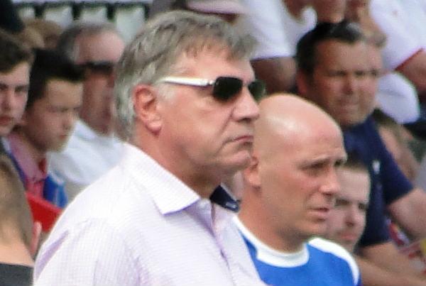 Sam Allardyce won his first game as England manager