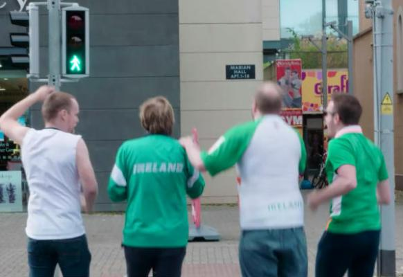 Republic of Ireland fans after Euro 2016 according to Republic of Telly