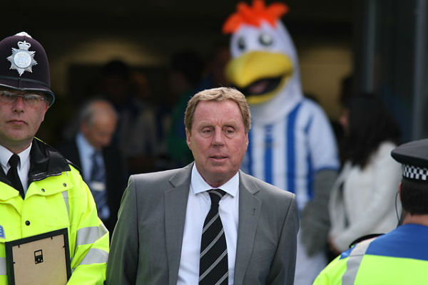 Harry Redknapp ran over his wife in his Range Rover