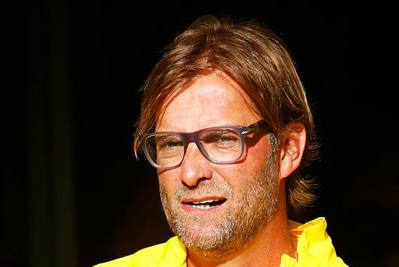 Is this the Jürgen Klopp lookalike or the real thing?