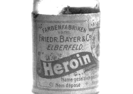 Heroin, as made from England v Scotland poppies