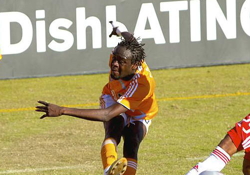 Kei Kamara was the victim of one of these harsh but funny refereeing decisions