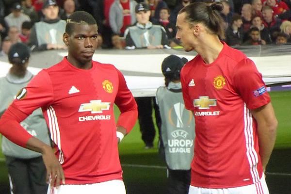 Paul Pogba and Zlatan Ibrahimović both scored in Swansea 1-3 Manchester United and so there were jokes