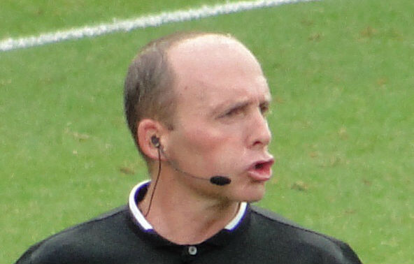 Mike Dean will now referee Championship matches