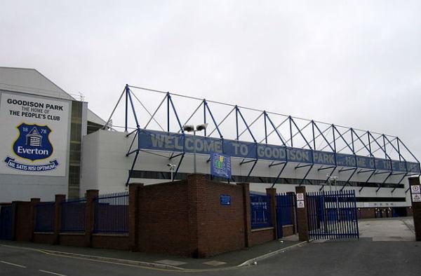 Goodison Park, current stadium of Everton