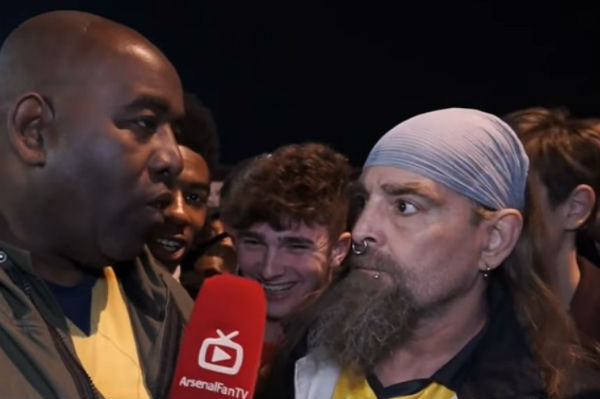Arsenal Fan TV, presented by Robbie Lyle