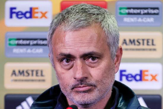 Man Utd manager José Mourinho