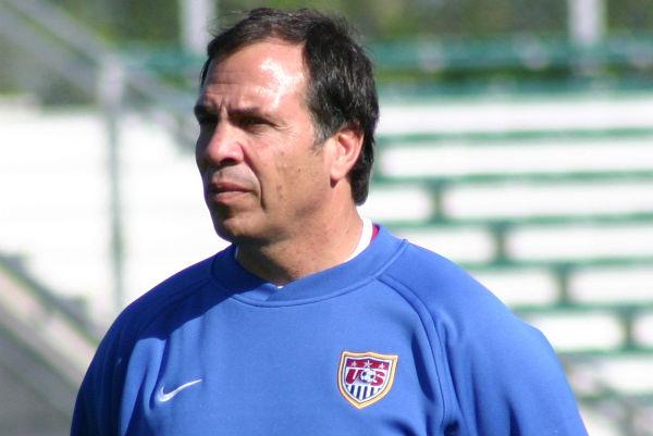US men's team coach Bruce Arena